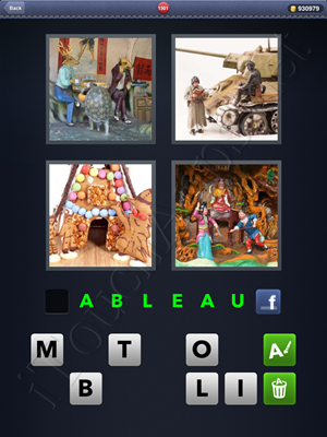 4 Pics 1 Word Level 1301 Solution