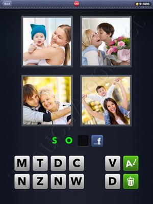 4 Pics 1 Word Level 1350 Solution