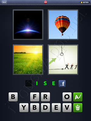 4 Pics 1 Word Level 1409 Solution