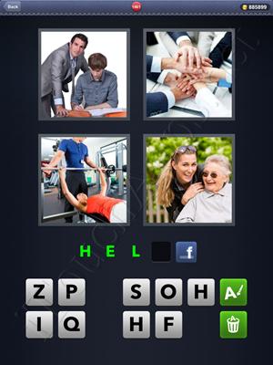 4 Pics 1 Word Level 1461 Solution