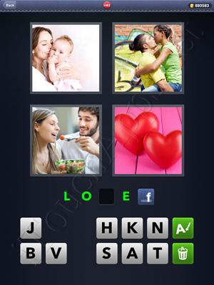 4 Pics 1 Word Level 1482 Solution