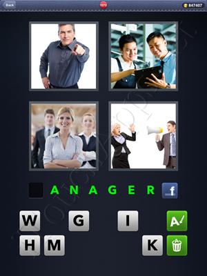 4 Pics 1 Word Level 1573 Solution