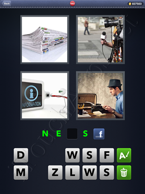 4 Pics 1 Word Level 1602 Solution