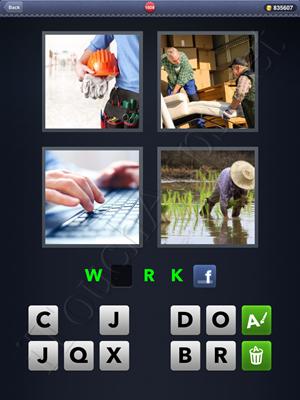 4 Pics 1 Word Level 1608 Solution