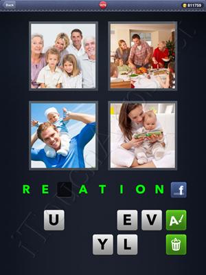 4 Pics 1 Word Level 1676 Solution
