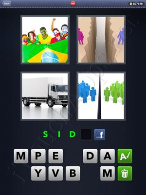 4 Pics 1 Word Level 1691 Solution