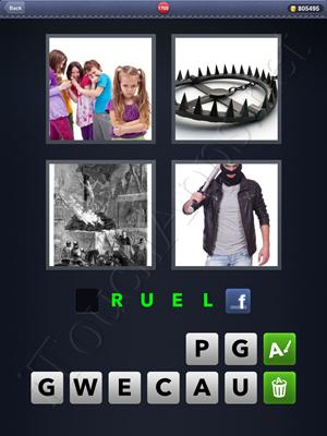 4 Pics 1 Word Level 1700 Solution