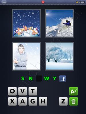 4 Pics 1 Word Level 1749 Solution
