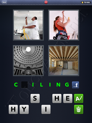 4 Pics 1 Word Level 1777 Solution