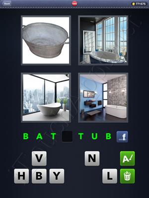 4 Pics 1 Word Level 1800 Solution