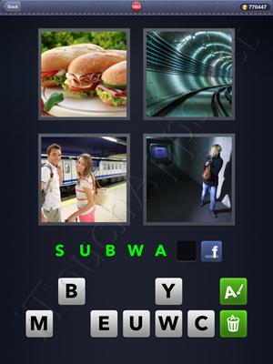 4 Pics 1 Word Level 1803 Solution