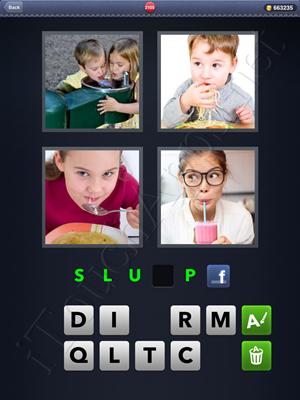 4 Pics 1 Word Level 2105 Solution