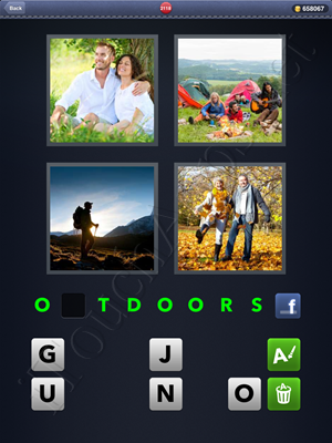 4 Pics 1 Word Level 2118 Solution