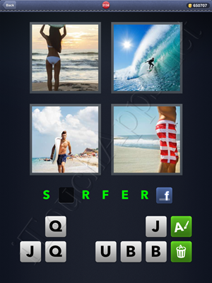 4 Pics 1 Word Level 2138 Solution