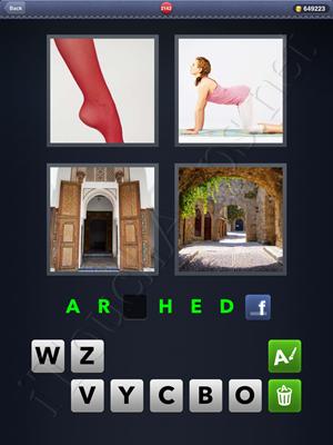 4 Pics 1 Word Level 2142 Solution