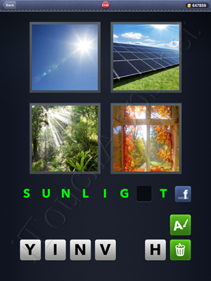 4 Pics 1 Word Level 2146 Solution