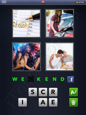4 Pics 1 Word Level 2147 Solution