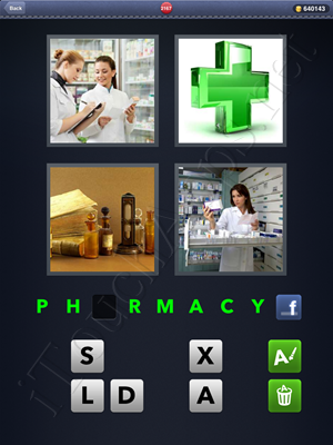 4 Pics 1 Word Level 2167 Solution