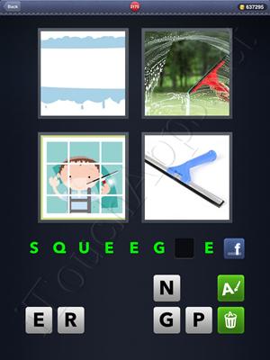 4 Pics 1 Word Level 2175 Solution