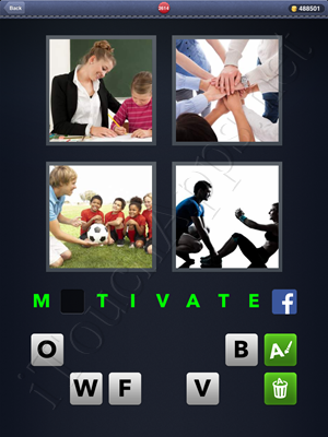 4 Pics 1 Word Level 2614 Solution