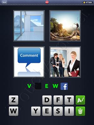 4 Pics 1 Word Level 2650 Solution