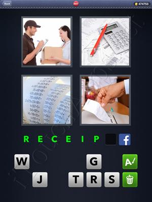 4 Pics 1 Word Level 2657 Solution