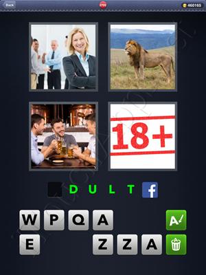 4 Pics 1 Word Level 2700 Solution