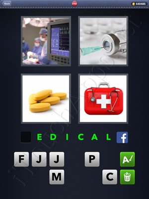 4 Pics 1 Word Level 2760 Solution
