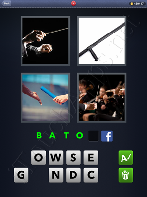 4 Pics 1 Word Level 2763 Solution