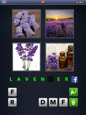 4 Pics 1 Word Level 2764 Solution