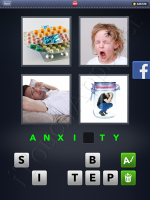4 Pics 1 Word Level 3086 Solution