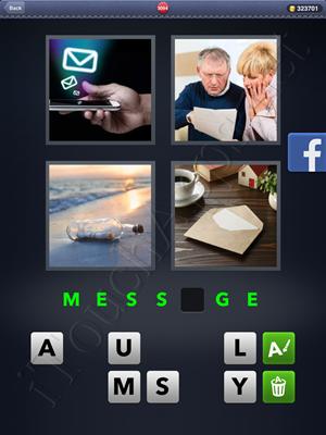 4 Pics 1 Word Level 3094 Solution