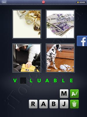 4 Pics 1 Word Level 3097 Solution