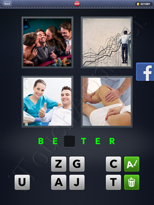 4 Pics 1 Word Level 3099 Solution