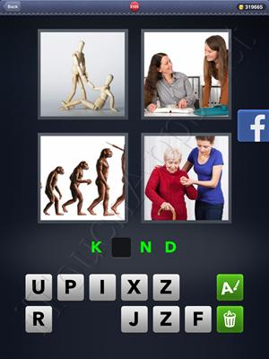 4 Pics 1 Word Level 3105 Solution