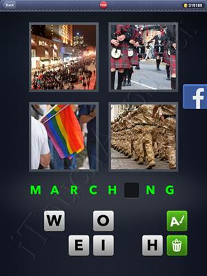 4 Pics 1 Word Level 3106 Solution