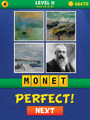4 Pics Mystery Level 11 Word 20 Solution