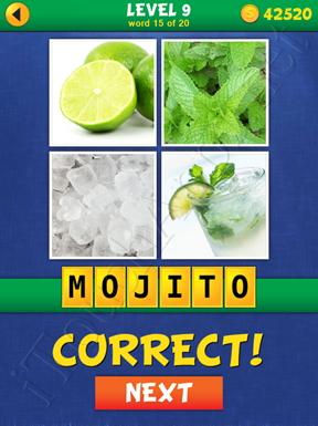 4 Pics Mystery Level 9 Word 15 Solution