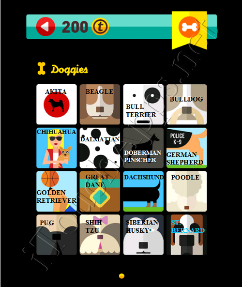 Icon Pop Quiz Game Weekend Specials Doggies Answers / Solutions