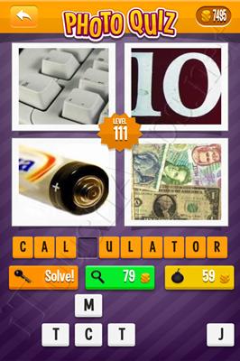 Photo Quiz Arcade Pack Level 111 Solution