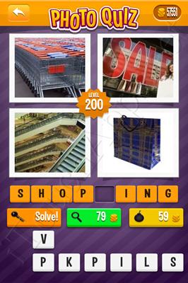 Photo Quiz Arcade Pack Level 200 Solution