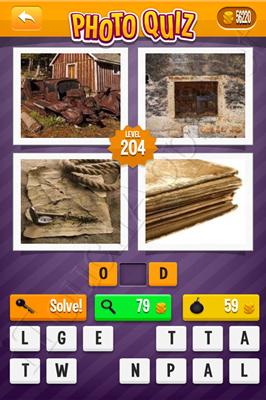 Photo Quiz Arcade Pack Level 204 Solution