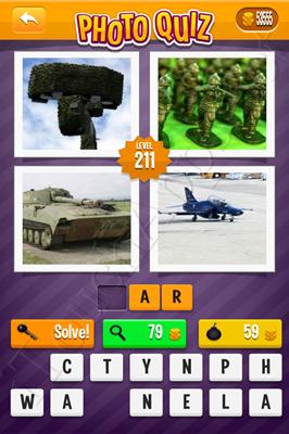 Photo Quiz Arcade Pack Level 211 Solution