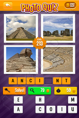 Photo Quiz Arcade Pack Level 213 Solution