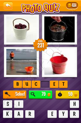 Photo Quiz Arcade Pack Level 231 Solution
