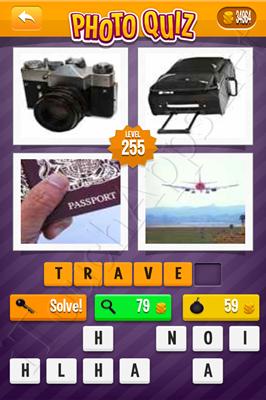 Photo Quiz Arcade Pack Level 255 Solution
