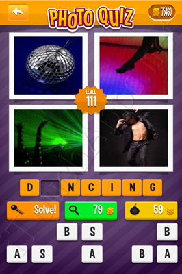 Photo Quiz Arcade Easy Pack Level 111 Solution