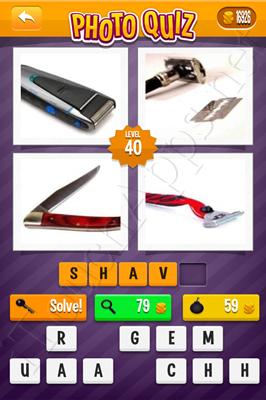 Photo Quiz Arcade Easy Pack Level 40 Solution