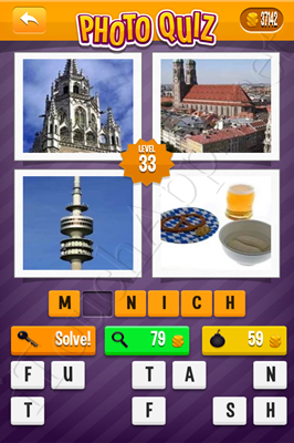 Photo Quiz Cities Pack Level 33 Solution
