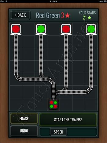 Trainyard Express Saskatchewan Red Green Solution